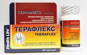 Препарат Терафлекс для суставов